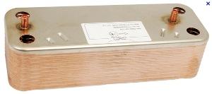 echangeur sanitaire 22 plaques ref sx5652190 pour chaudi re br tje chapp e id al standard. Black Bedroom Furniture Sets. Home Design Ideas