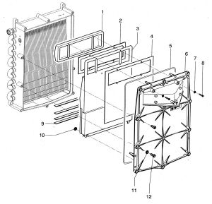 corps de chauffe chaudi re intergas. Black Bedroom Furniture Sets. Home Design Ideas