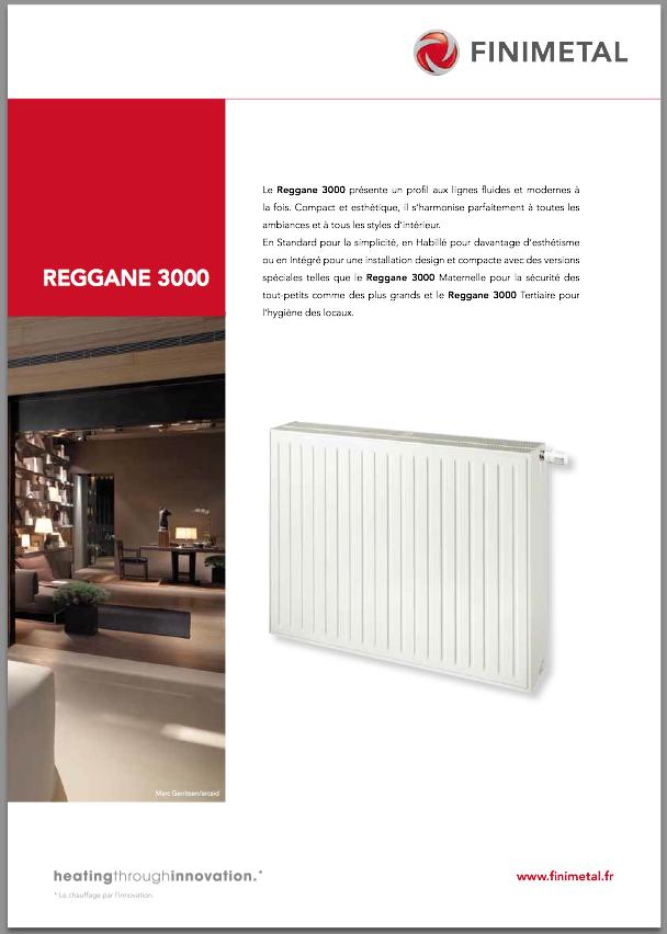 radiateur acier finimetal reggane 3000 h 750 habill 21h750 1828 watts l 1200 ep 64. Black Bedroom Furniture Sets. Home Design Ideas