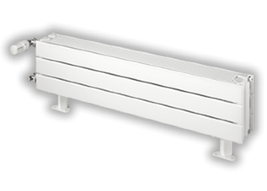Radiateur acier finimetal chorus plinthe h 305 2151 for Radiateur eau chaude plinthe