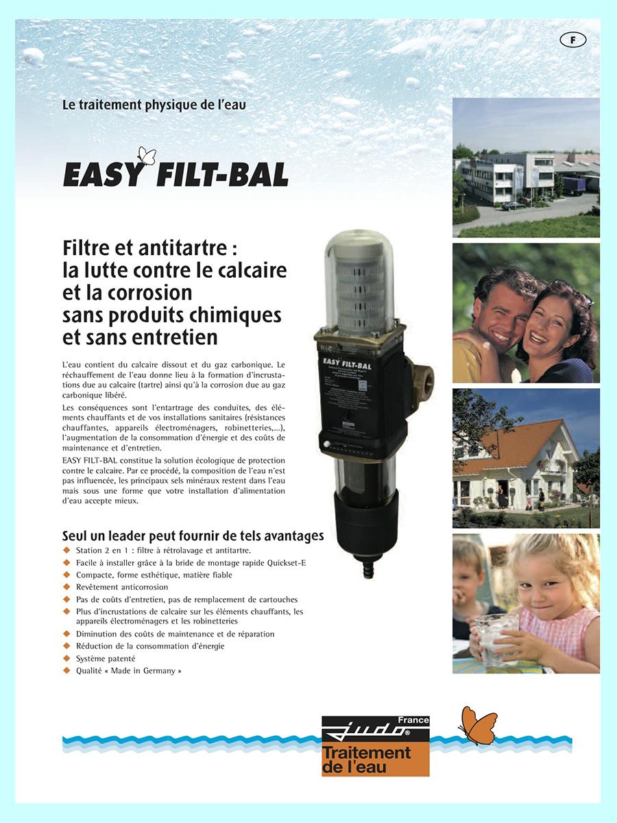 filtre antitartre magnetique easy filt bal judo anticalcaire. Black Bedroom Furniture Sets. Home Design Ideas