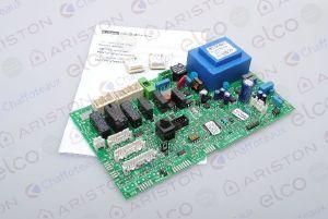 Carte de circuits imprimés régulation ref 65109313-01 Chaudière Chaffoteaux