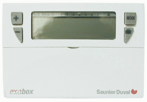 Thermostat Programmable 7 jours  Saunier Duval ExaBox ref SD0020076391