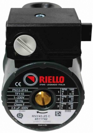 Circulateur RIELLO RNY43-25 RQZZ0318 RIELLO ref 4322457