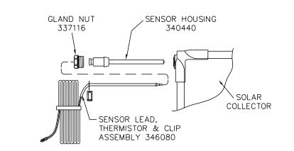 Doigt de gant pour sonde capteur solahart streamline ref 340440 - Sonde chauffe eau ...